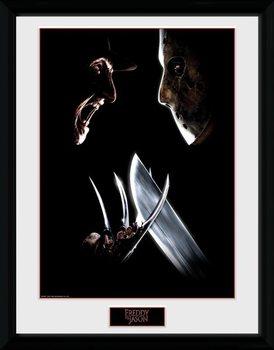 Nightmare On Elm Street - Face Off gerahmte Poster