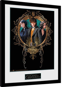 Phantastische Tierwesen: Grindelwalds Verbrechen - Trio gerahmte Poster