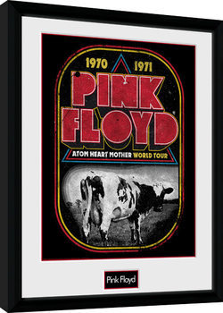 Pink Floyd - Atom Heart World Tour gerahmte Poster