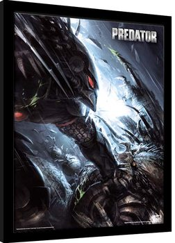 Predator - The Hunter Becomes The Hunted gerahmte Poster