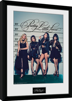 Pretty Little Liars - Line Up gerahmte Poster