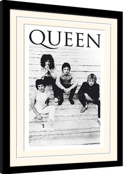 Queen - Brazil 81 gerahmte Poster