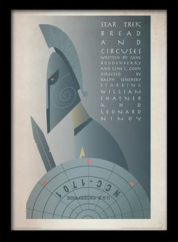 Raumschiff Enterprise - Bread and Circuses gerahmte Poster