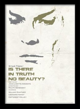 Raumschiff Enterprise - Is There In Truth No Beauty? gerahmte Poster