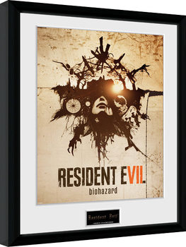 Resident Evil - Talisman gerahmte Poster