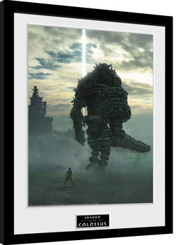 Shadow Of The Colossus - Key Art gerahmte Poster