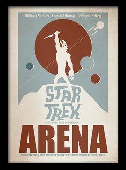 STAR TREK - arena gerahmte Poster