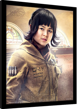 Star Wars: Die letzten Jedi- Rose Stance gerahmte Poster