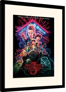 Stranger Things - Summer of 85 gerahmte Poster
