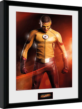 The Flash - Kid Flash gerahmte Poster