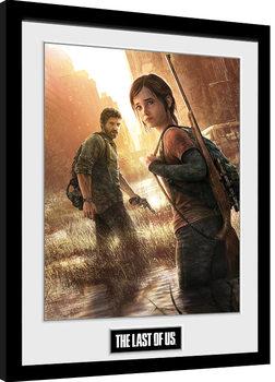 The Last Of Us - Key Art gerahmte Poster