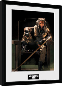 The Walking Dead - Ezekial gerahmte Poster