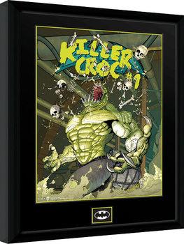 Gerahmte Poster DC Comics - Killer Croc Sewers