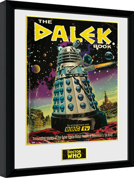 Gerahmte Poster Doctor Who - The Dalek Book