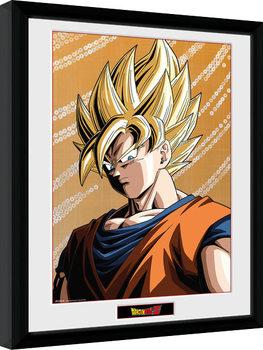 Gerahmte Poster Dragon Ball Z - Goku