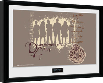 Gerahmte Poster Harry Potter - Dumbledore's Army