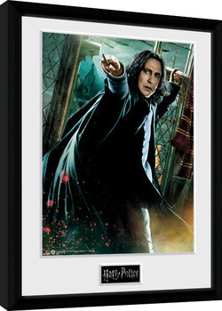 Gerahmte Poster Harry Potter - Snape Wand
