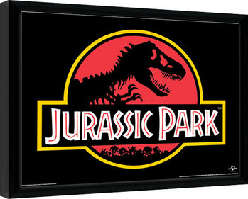 Gerahmte Poster Jurassic Park - Classic Logo