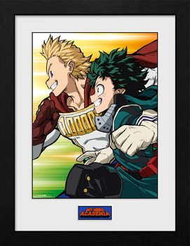 Gerahmte Poster My Hero Academia - Season 4 Teaser