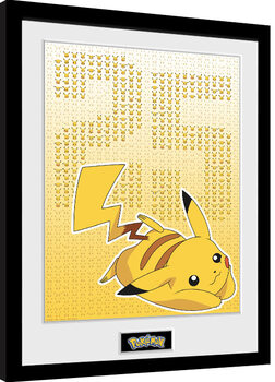 Gerahmte Poster Pokemon - Pikxels