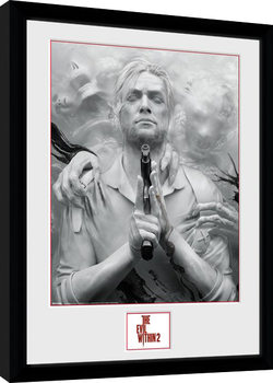 Gerahmte Poster The Evil Within 2 - Key Art