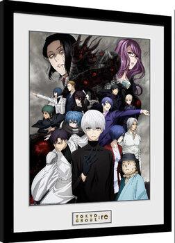 Gerahmte Poster Tokyo Ghoul: Re - Key Art 3