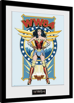 Gerahmte Poster Wonder Woman 1984 - Comic