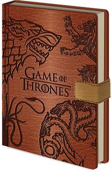 Bilježnica Game Of Thrones - Sigils