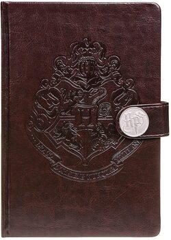 Bilježnica Harry Potter - Hogwarts Crest / Clasp Premium