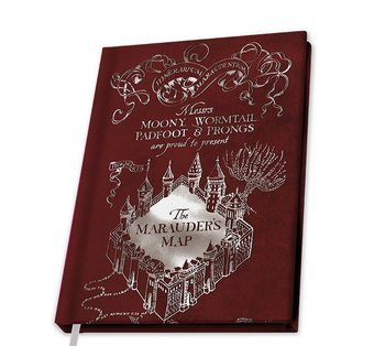 Bilježnica Harry Potter - Marauder's Map