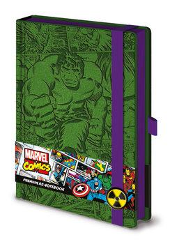 Bilježnica Marvel - Incredible Hulk A5 Premium