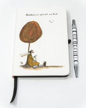 Bilježnica Sam Toft - Sometimes We Just Sit and Think