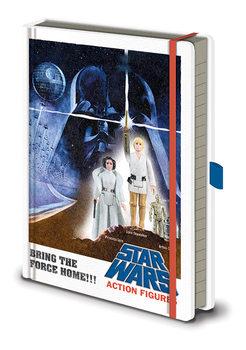 Bilježnica Star Wars - Action Figures