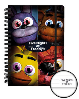 Five Nights at Freddys - Quad Bilježnica