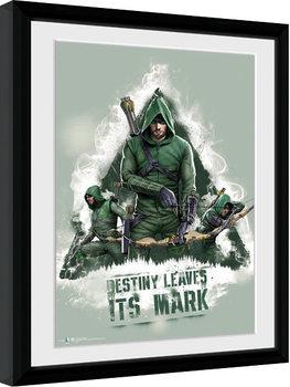 Indrammet plakat Arrow - Destiny
