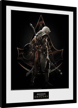 Indrammet plakat Assassins Creed: Origins - Assassin