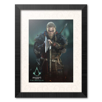 Indrammet plakat Assassins Creed: Valhalla