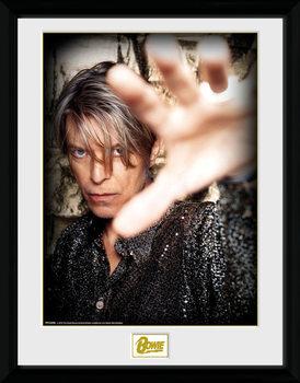 Indrammet plakat David Bowie - Hand