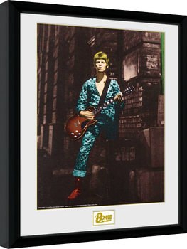Indrammet plakat David Bowie - Street