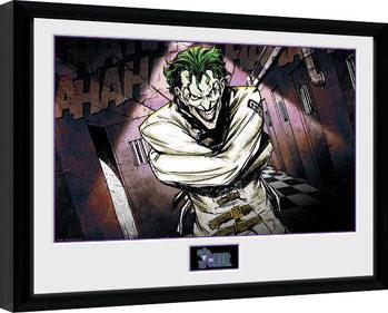 Indrammet plakat DC Comics - Asylum