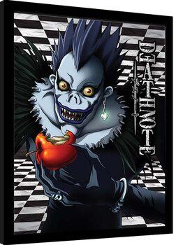 Indrammet plakat Death Note - Ryuk Checkered