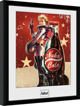 Indrammet plakat Fallout 4 - Nuka Cola