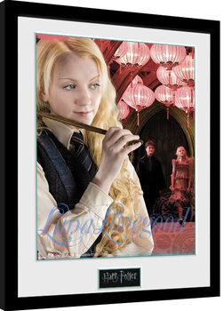 Indrammet plakat Harry Potter - Luna