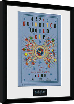 Indrammet plakat Harry Potter - Quidditch World Cup 2