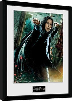 Indrammet plakat Harry Potter - Snape Wand