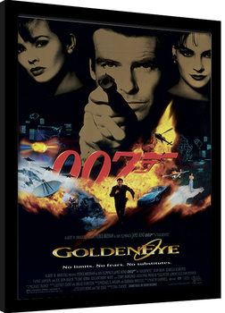 Indrammet plakat JAMES BOND 007 - Goldeneye