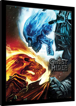 Indrammet plakat Marvel Extreme - Ghost Rider