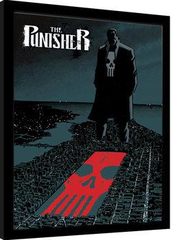 Indrammet plakat Marvel Extreme - Punisher