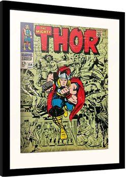 Indrammet plakat Marvel - Thor