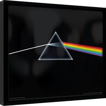 Indrammet plakat Pink Floyd - Dark Side Of The Moon